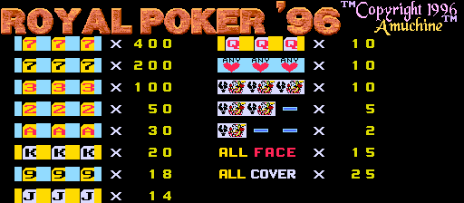 Royal Poker '96