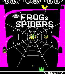 Frog & Spider