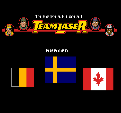 International Team Laser