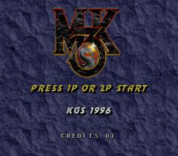 Mortal Kombat 3 (Genesis to Arcade)