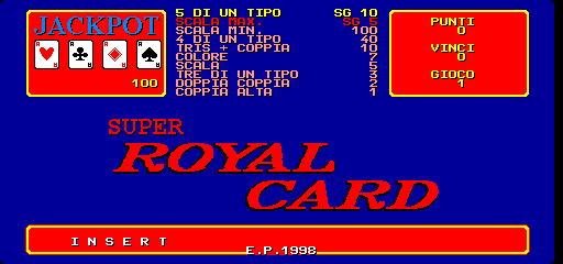 Video Carnival / Super Royal Card