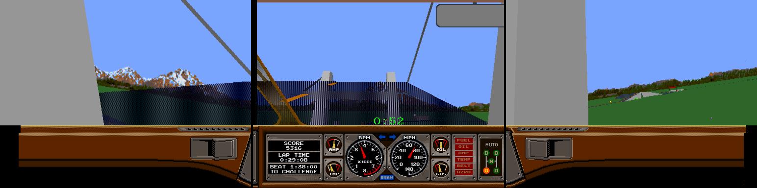 Race Drivin' Panorama
