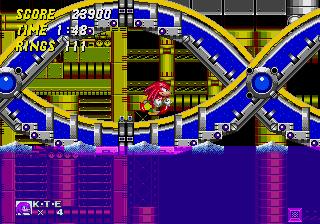 Sonic + Knuckes lock on tech