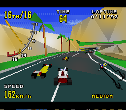 Virtua Racing Genesis