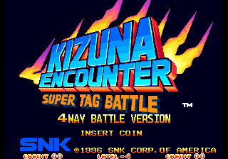 Kizuna Encounter 4 Way Battle
