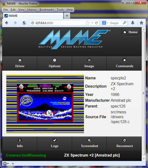 Mame Web Browser