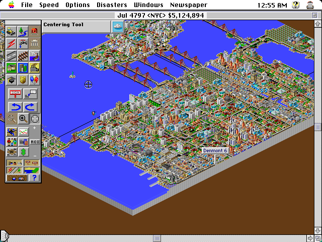 Sim City 2000 Mac