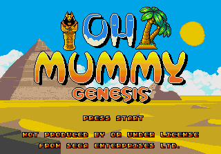 Oh Mummy!