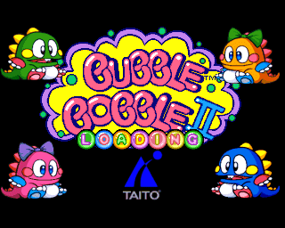 Bubble Bobble II (playstation prototype)