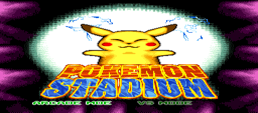 Pokemon Stadium SNES