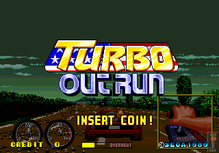Turbo Outrun Japan