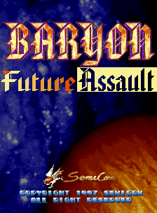 Baryon: Future Assault
