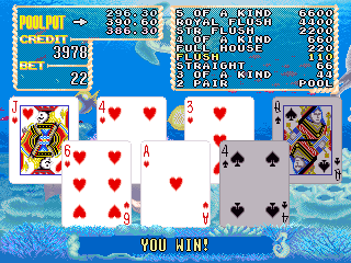 Umi de Poker / Marine Paradise