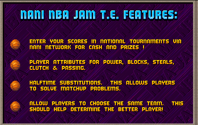 NBA Jam Tournament Edition NANI