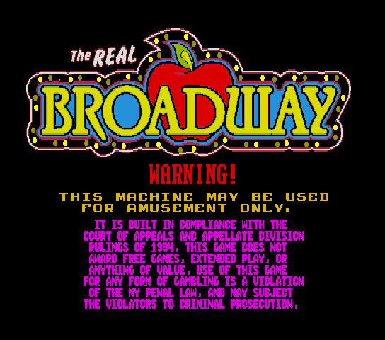 The Real Broadway