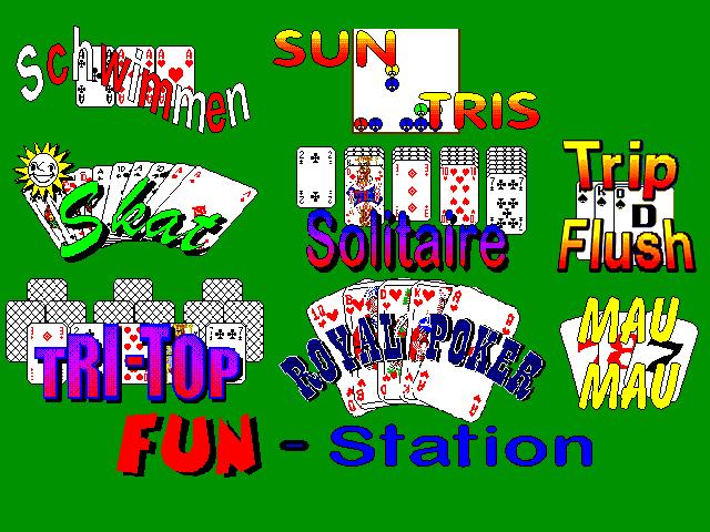 Fun Station Spielekoffer 9 Spiele