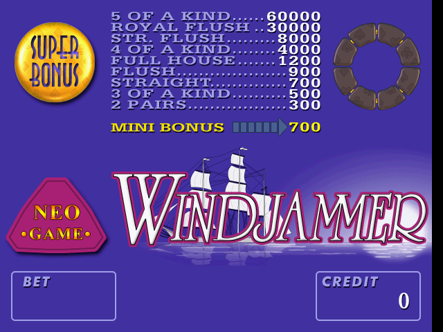 Neo-Game Windjammer
