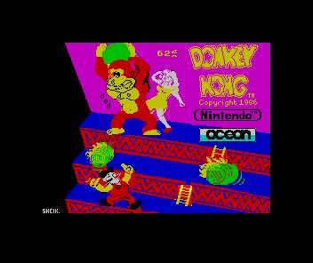 Spectrum Donkey Kong