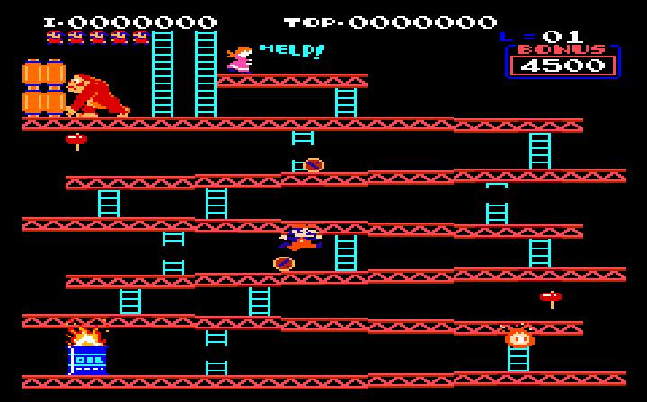 Uzebox Donkey Kong