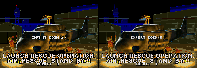 Air Rescue - Both Screens