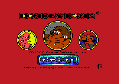 Donkey Kong C64 Ocean