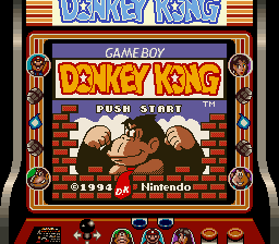 Super Gameboy Donkey Kong