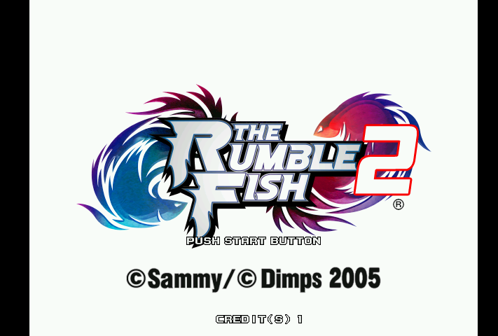 Rumble Fish 2 prototype