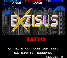 Taito's Exzisus
