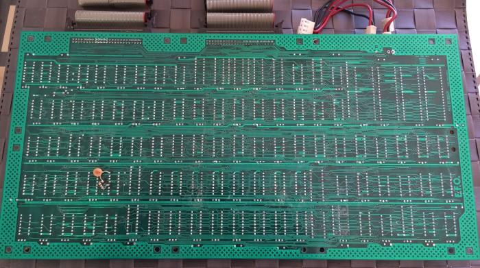 Sprite PCB underside