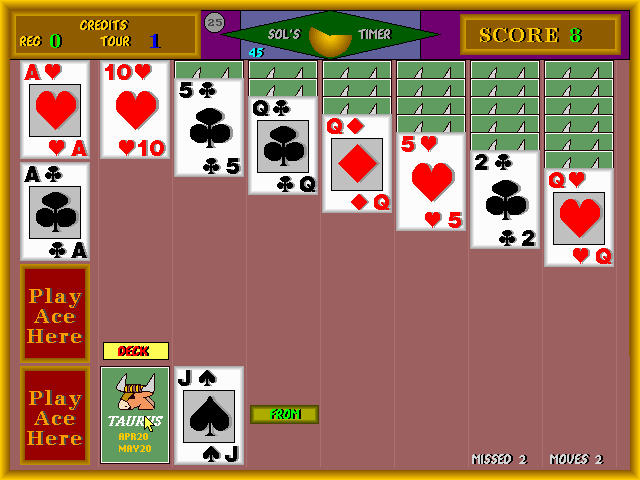 Tournament Solitaire