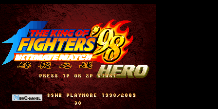 King of Fighter 98 Ultimate Match Hero