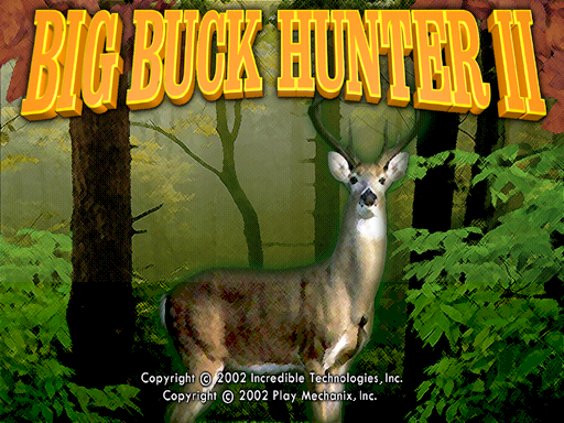 Big Buck Hunter II - Sportsman's Paradise