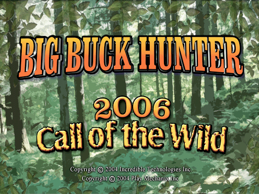 Big Buck Hunter 2006 Call of the Wild