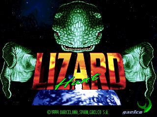 Lizard Hunt