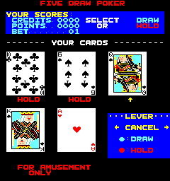Lucky Poker (wrong colours)