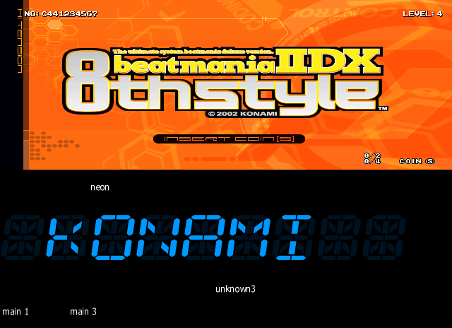 Here is beatmania IIDX 8th style