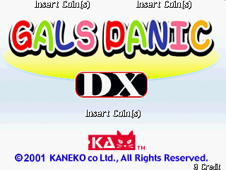 Gals Panic DX