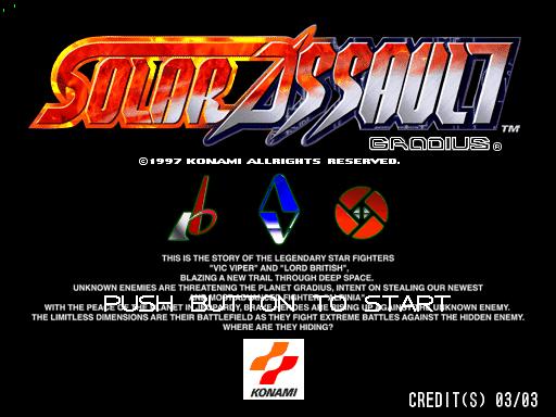 Solar Assault