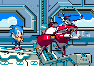 Sega Sonic Cosmo Fighter