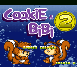 Cookie and Bibi 2 (MAME set)