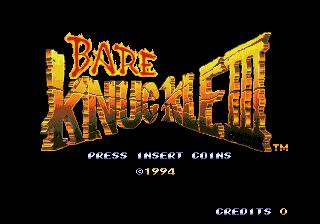 Bare Knuckle III