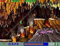 The Burning Cavern