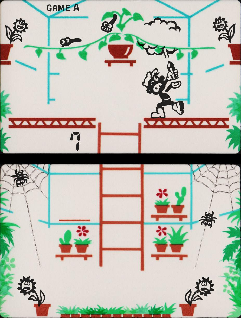Game & Watch Green House