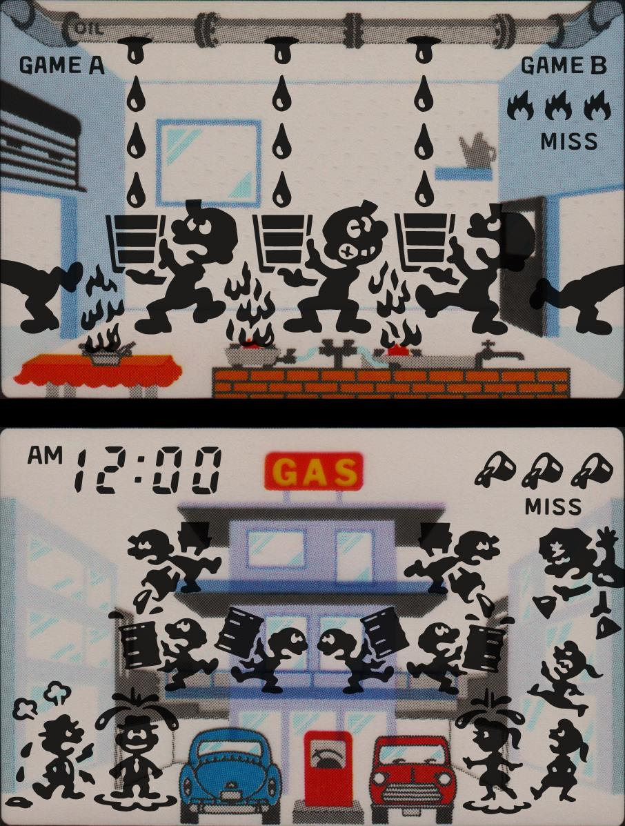 Game & Watch Oil Panic