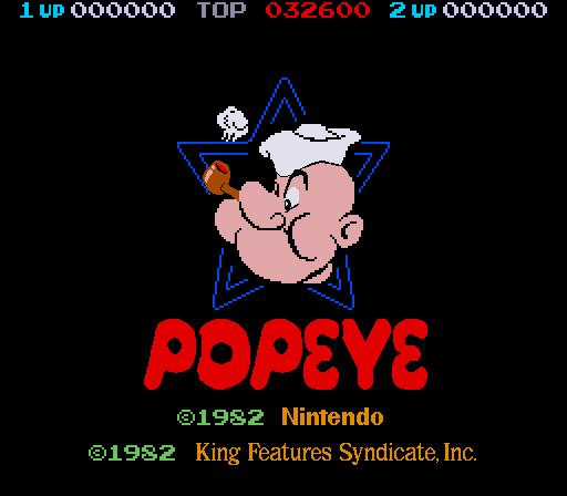 Popeye High Score Kit