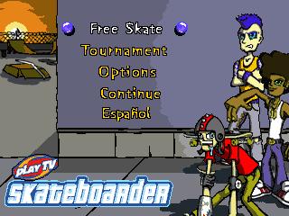 Play TV Skateboarder