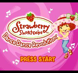 Dance Dance Revolution Strawberry Shortcake