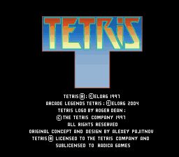Racica Tetris