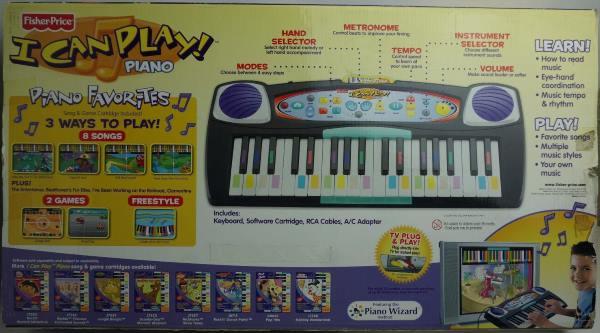 I Can Play Piano