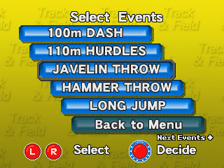 Track & Field Challenge